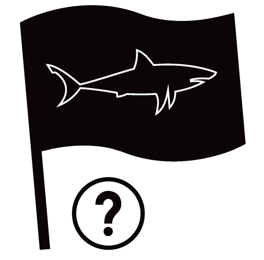 Shark Spotters Black Flag