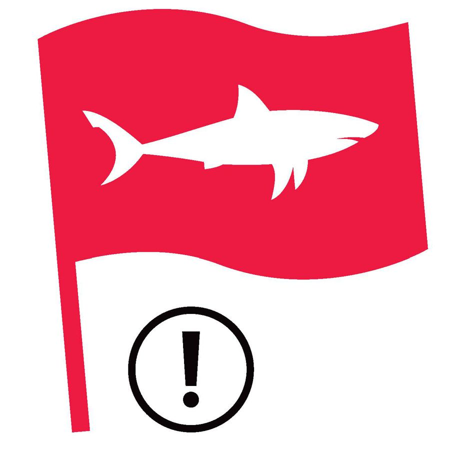 Shark Spotters Red Flag