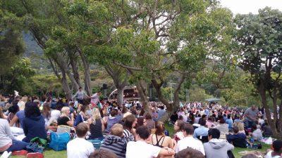 Kirstenbosch Summer Concert Area